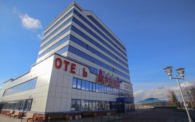 Гостиница Арена Минск вид на фасад