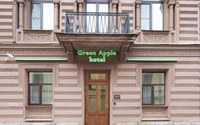 Гостиница Green Apple Отель в Санкт-Петербурге отзывы, цены и фото номеров - забронировать гостиницу Green Apple Отель онлайн Санкт-Петербург вид на фасад