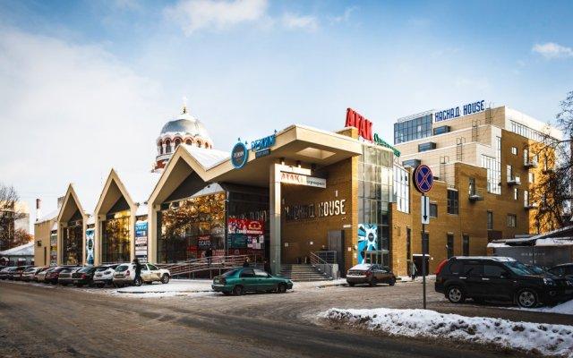 Отель Каскад Нижний Новгород вид на фасад