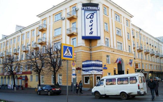 Отель Волга Ульяновск вид на фасад