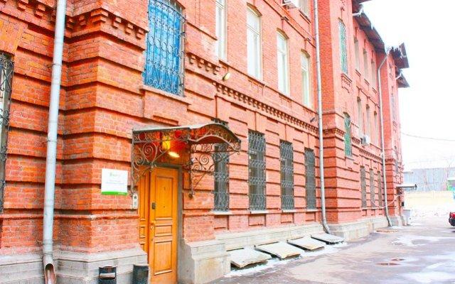Гостиница HotelHot Aviamotornaya Hostel в Москве отзывы, цены и фото номеров - забронировать гостиницу HotelHot Aviamotornaya Hostel онлайн Москва вид на фасад