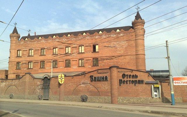 Гостиница Башня в Брянске 1 отзыв об отеле, цены и фото номеров - забронировать гостиницу Башня онлайн Брянск вид на фасад