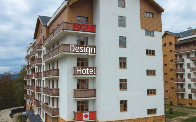 AYS Design Hotel Роза Хутор вид на фасад