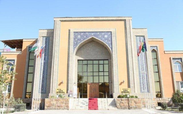 Отель Asia Bukhara вид на фасад
