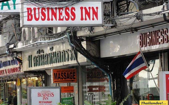 Отель Business Inn вид на фасад
