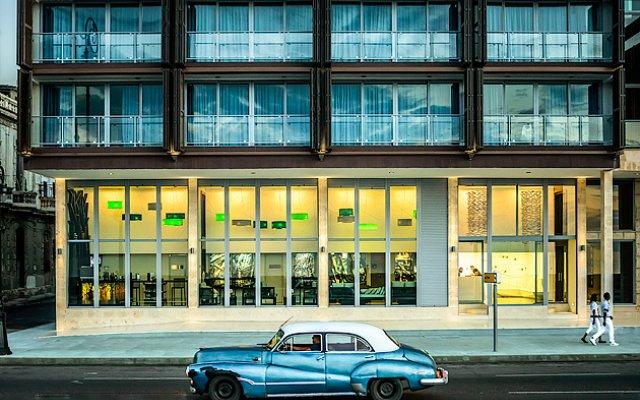 Отель Terral вид на фасад
