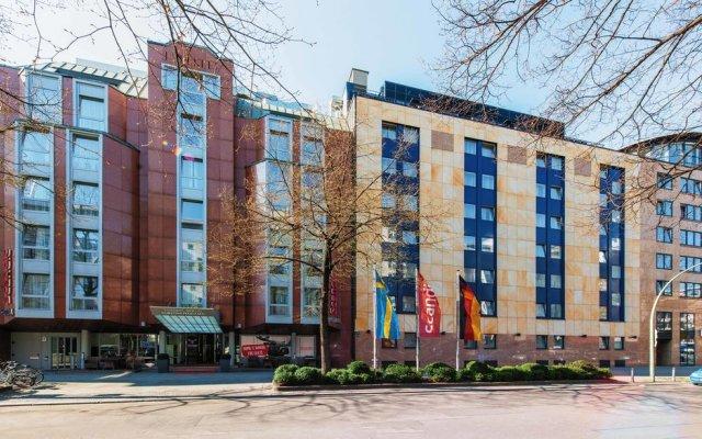 Отель Scandic Berlin Kurfurstendamm Берлин вид на фасад