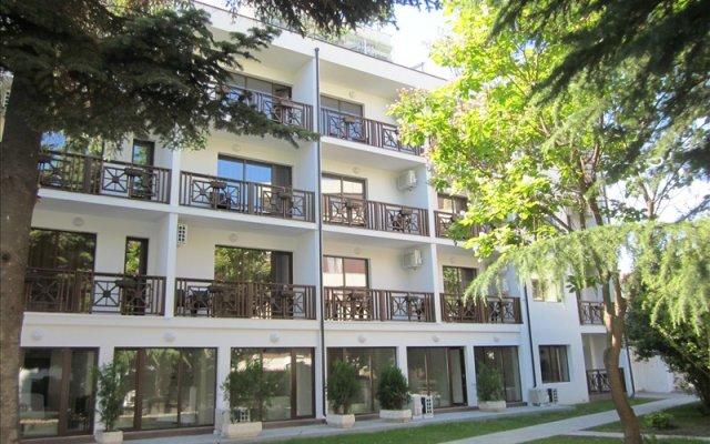 Villa Mare Hotel Солнечный берег вид на фасад