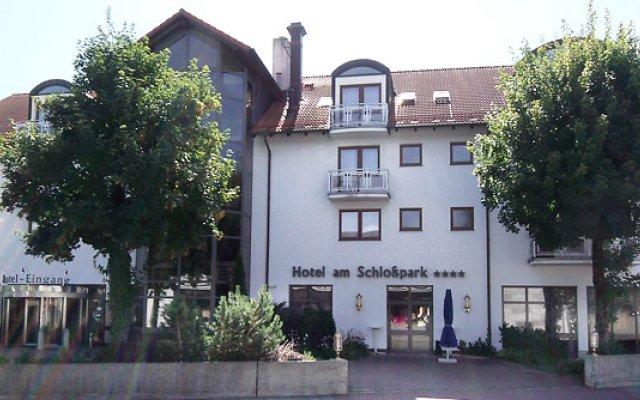 Hotel am Schlopark вид на фасад