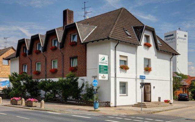 Отель Zum Starenkasten вид на фасад
