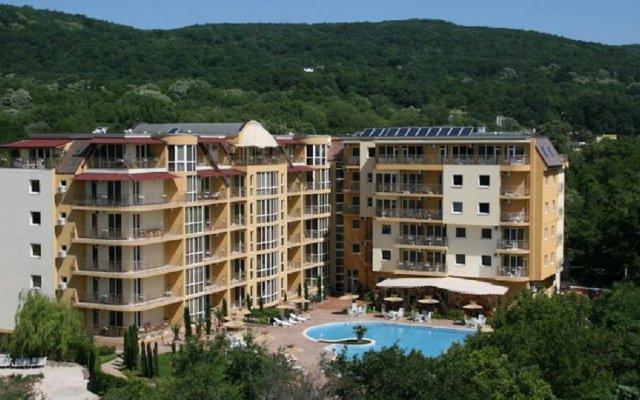 Отель Joya Park Complex Болгария, Золотые пески - отзывы, цены и фото номеров - забронировать отель Joya Park Complex онлайн вид на фасад
