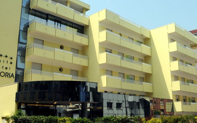 Отель Astoria Suite Hotel Италия, Римини - 9 отзывов об отеле, цены и фото номеров - забронировать отель Astoria Suite Hotel онлайн вид на фасад