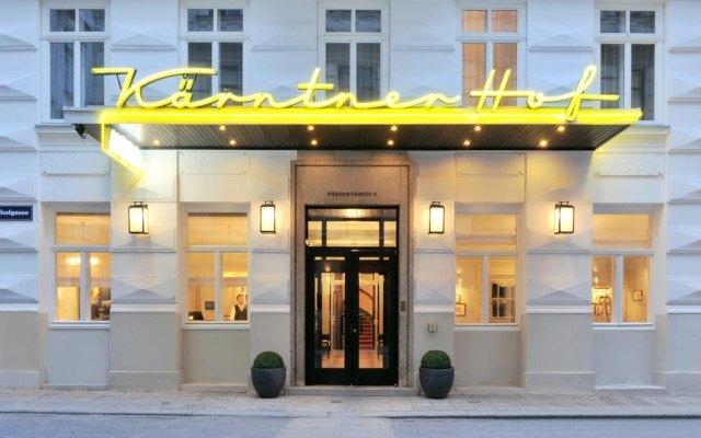 Hotel Kärntnerhof вид на фасад