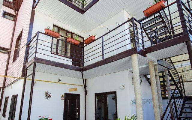 Гостиница «Агат» вид на фасад
