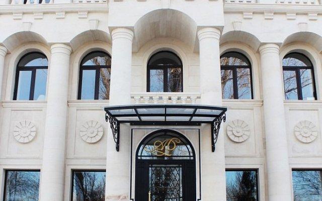 Гостиница Новомосковская вид на фасад