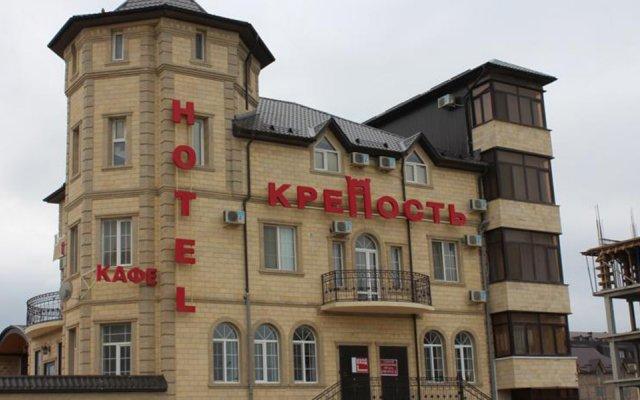 Гостиница Krepost Mini Hotel в Махачкале отзывы, цены и фото номеров - забронировать гостиницу Krepost Mini Hotel онлайн Махачкала вид на фасад