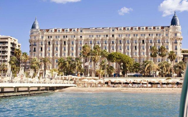 Отель InterContinental Carlton Cannes пляж