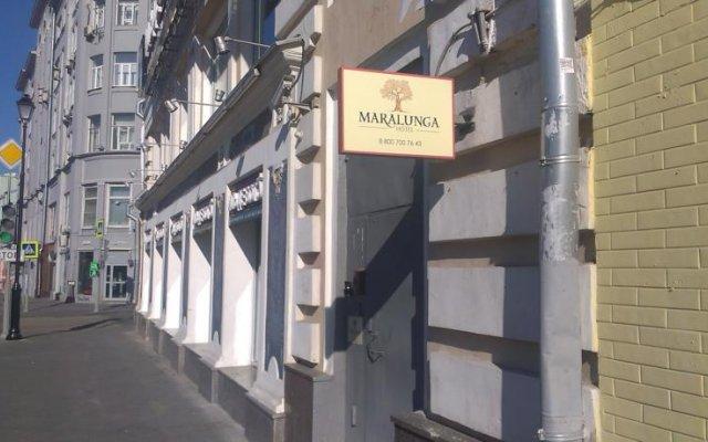 Гостиница Маралунга вид на фасад