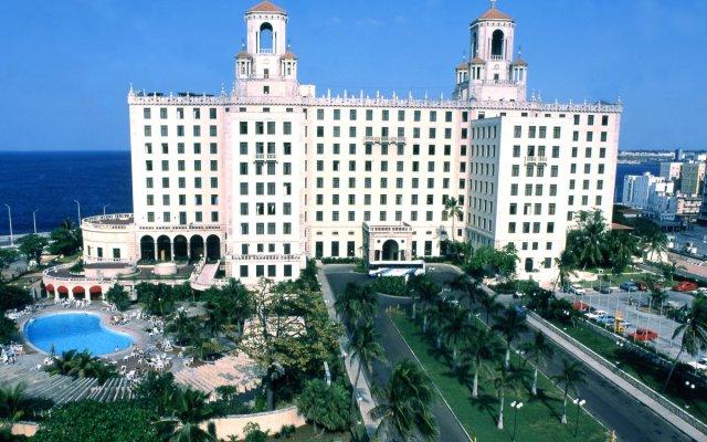 Hotel Nacional de Cuba вид на фасад