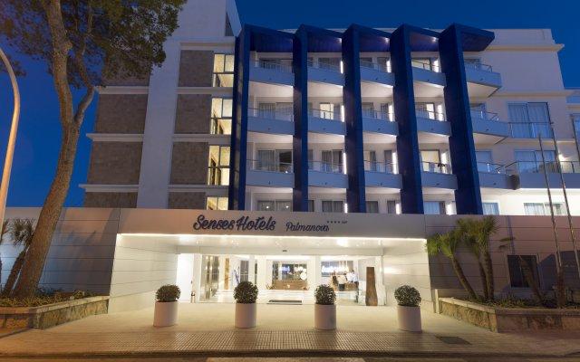 Отель Delfin Playa вид на фасад