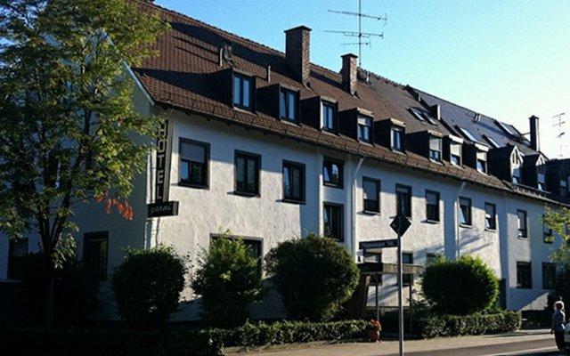 Prähofer Hotel Garni Мюнхен вид на фасад