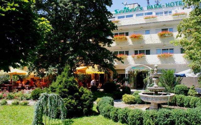 Отель Seibels Park Hotel Германия, Мюнхен - 1 отзыв об отеле, цены и фото номеров - забронировать отель Seibels Park Hotel онлайн вид на фасад