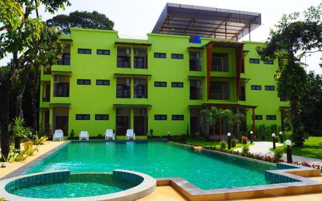 Отель Morakot Lanta Resort Ланта бассейн