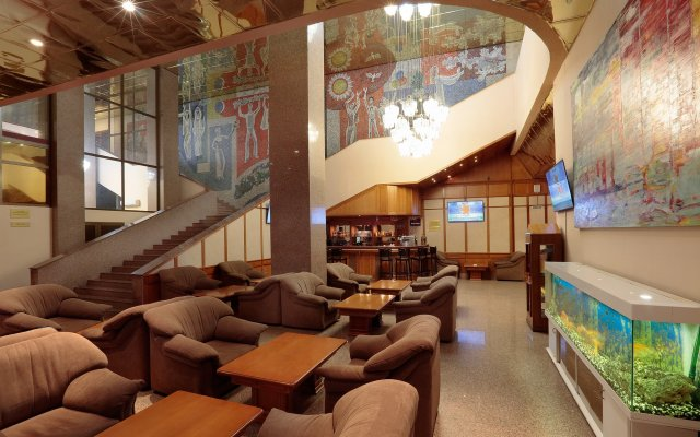 Гостиница Молодежный интерьер отеля