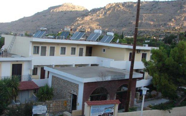 Apostolis Hotel Apartments вид на фасад