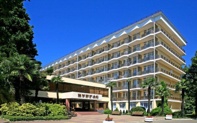 Гостиница Пансионат Бургас вид на фасад