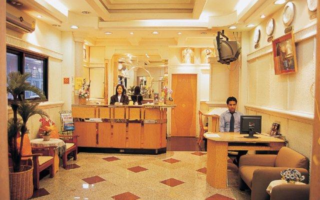 Отель Sams Lodge интерьер отеля