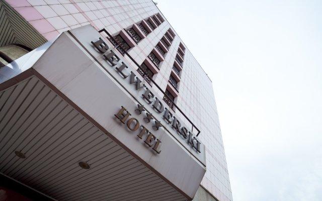 Отель Belwederski Польша, Варшава - 1 отзыв об отеле, цены и фото номеров - забронировать отель Belwederski онлайн вид на фасад