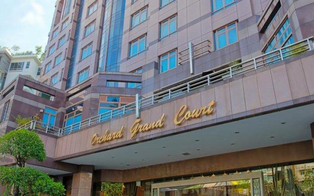 Отель Orchard Grand Court вид на фасад
