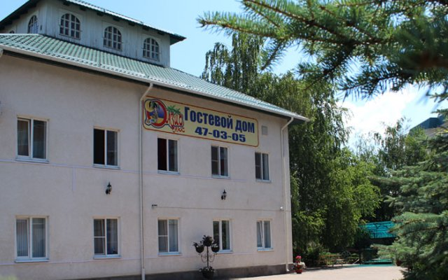 Отель Oasis Ug Ставрополь вид на фасад