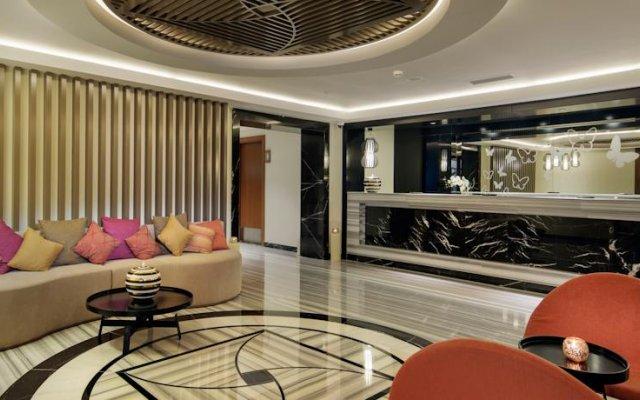 Papillon Ayscha Resort & Spa Турция, Белек - 10 отзывов об отеле, цены и фото номеров - забронировать отель Papillon Ayscha Resort & Spa - All Inclusive онлайн интерьер отеля