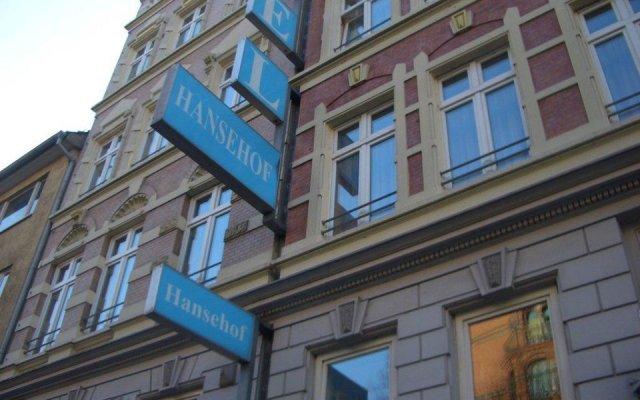 Hotel Hansehof вид на фасад