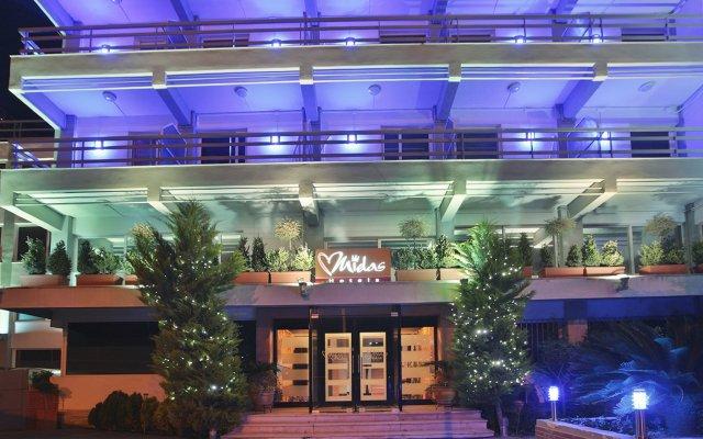 Midas Hotel вид на фасад