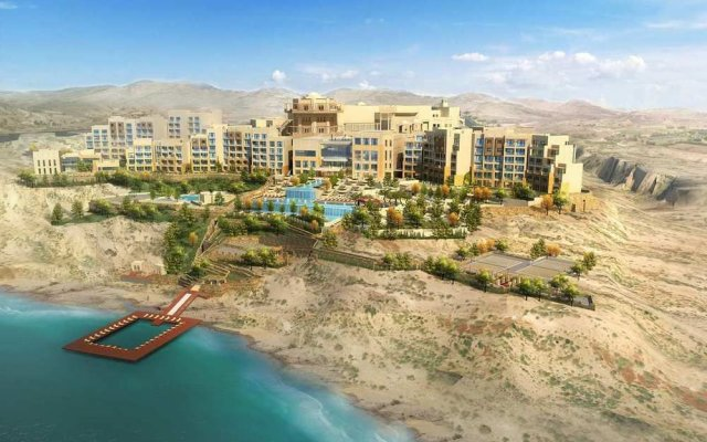 Отель Hilton Dead Sea Resort & Spa пляж