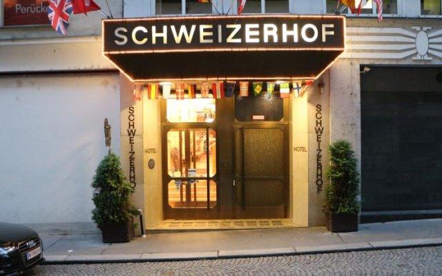 Schweizerhof Hotel Вена вид на фасад