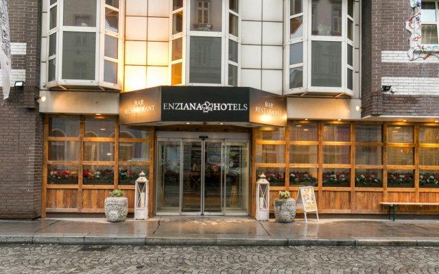 Отель Arthotel ANA Enzian вид на фасад
