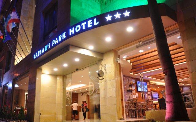 Caesars Park Hotel Beirut вид на фасад