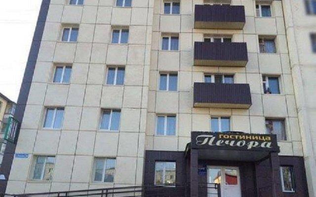Гостиница Печора вид на фасад