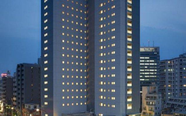 Отель Via Inn Tokyo Oimachi Япония, Токио - отзывы, цены и фото номеров - забронировать отель Via Inn Tokyo Oimachi онлайн вид на фасад