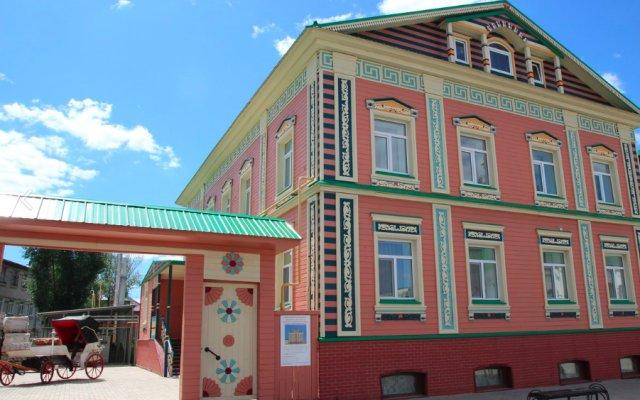 Гостиница Бал вид на фасад
