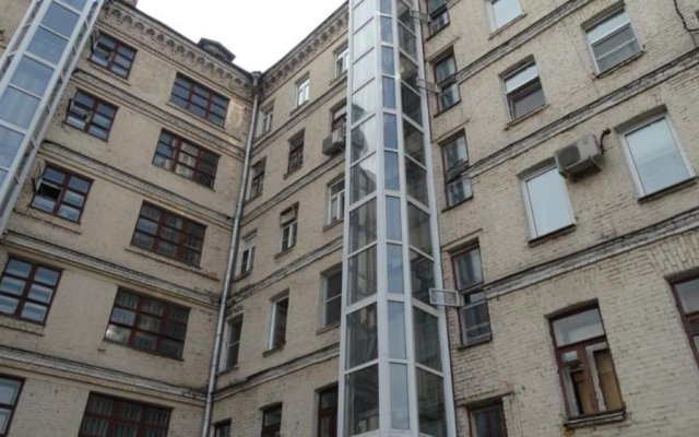 Гостиница Cousy appartments in Moscow вид на фасад