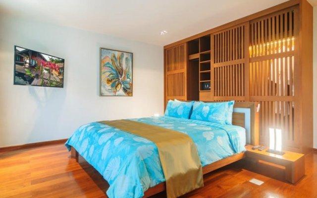 Отель Elemental 5FL Infinity Pool Seafront Villas Пхукет комната для гостей