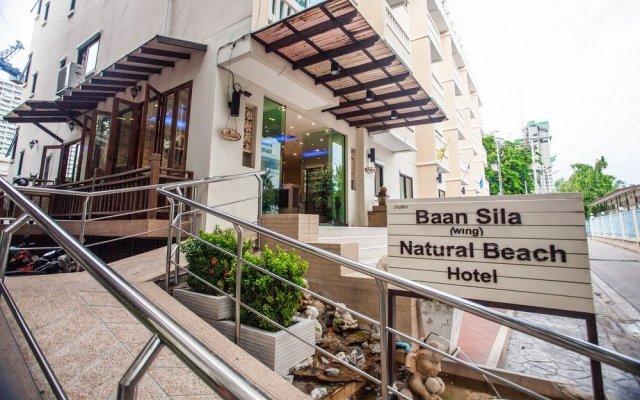 Отель Natural Beach Паттайя вид на фасад