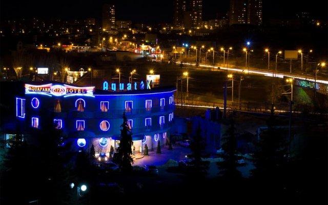 Aquatek Hotel вид на фасад