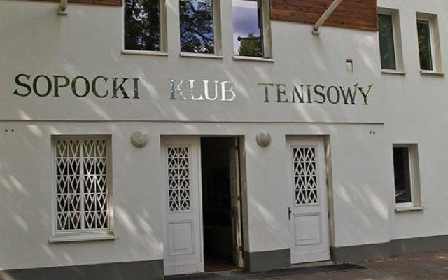 Отель Tenisowy Inn вид на фасад