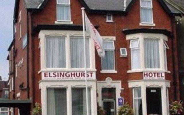 Elsinghurst Hotel Lytham St Annes вид на фасад